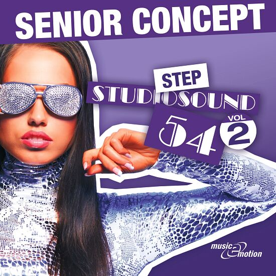 "CD ""Senior Concept - Step Studiosound 54, Vol.2"""