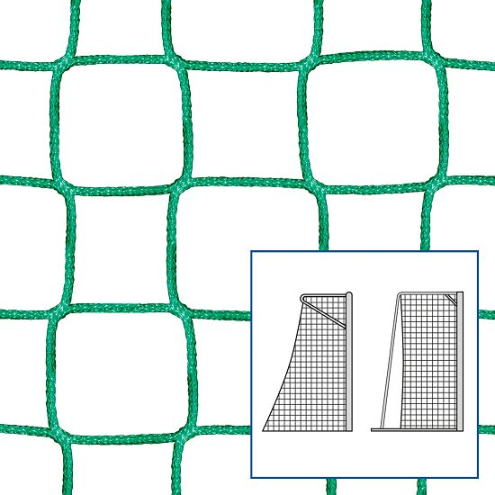 """80/100 cm"" Small Pitch / Handball Goal Net Green, 5 mm"