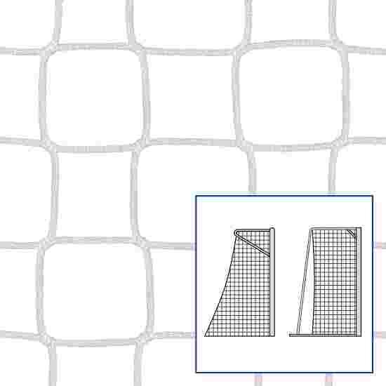 """80/100 cm"" Small Pitch / Handball Goal Net White, 5 mm"