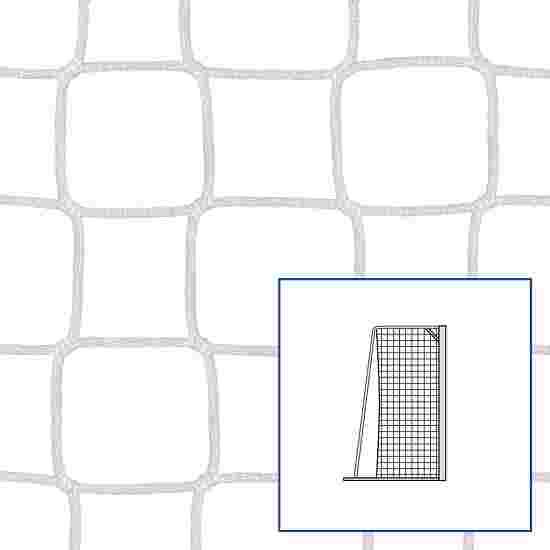 """80/150 cm"" Small Pitch / Handball Goal Net White"