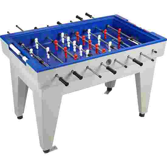 Acrylic Concrete Table Football Table Blue
