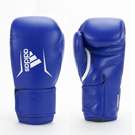 """Adidas Boxhandschuh """"Speed 175"""" 14 oz, Blau"""
