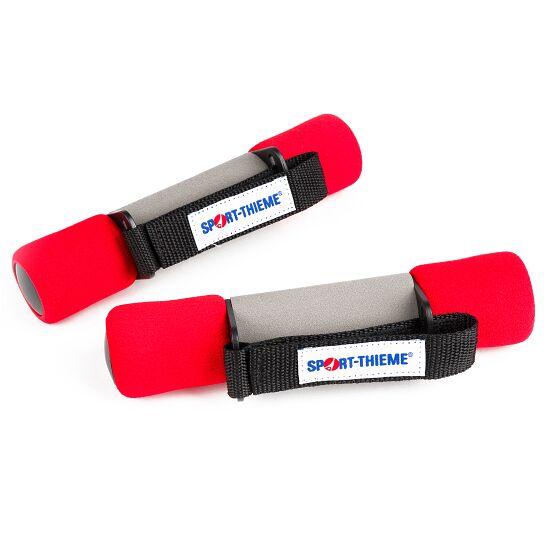 Aerobic håndvægte 1 kg, rød
