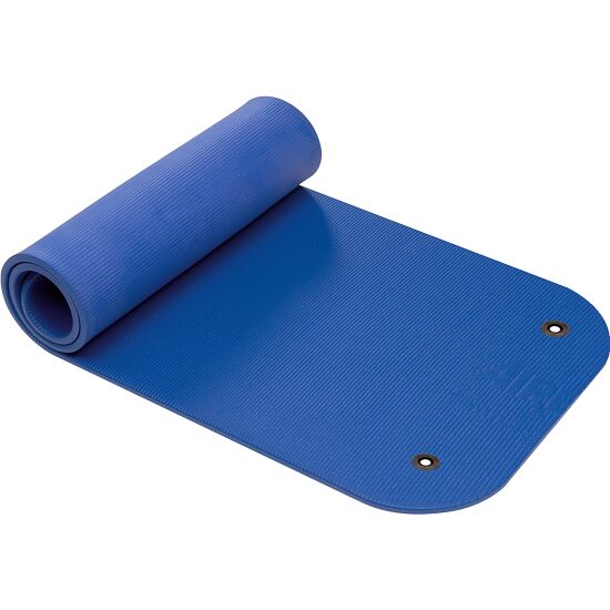 """Airex® """"Coronella"""" Exercise Mat With eyelets, Blue"""