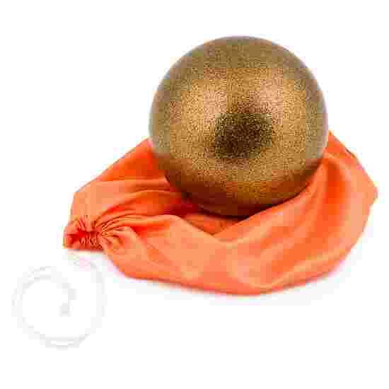 """Amaya """"Glitter"""" Gymnastics Ball Copper"""