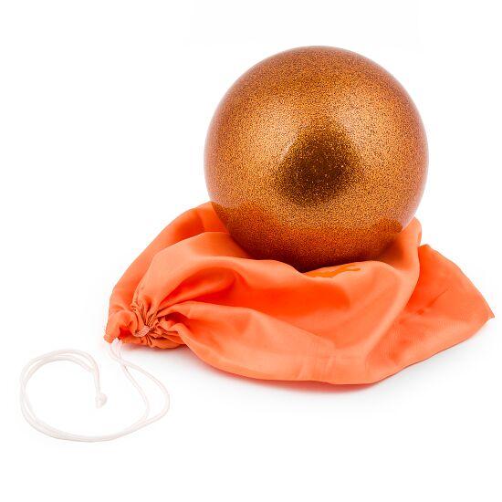 "Amaya Gymnastikball ""Glitzer"" FIG Orange"