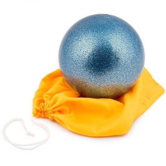 """Amaya Gymnastikball """"Glitzer"""" FIG Hellblau"""