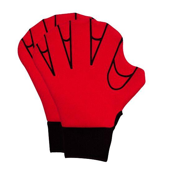 Aqua Fitness-Handschuhe M, 25x18 cm, Rot