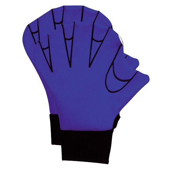 Aqua Fitness-Handschuhe L, 26,5x19 cm, Blau