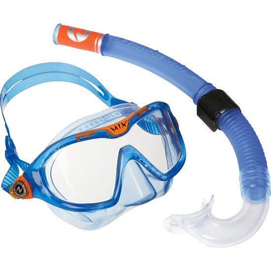 "Aqua Lung® Kinder-Schnorchelset ""Reef"" Transparent Blau"