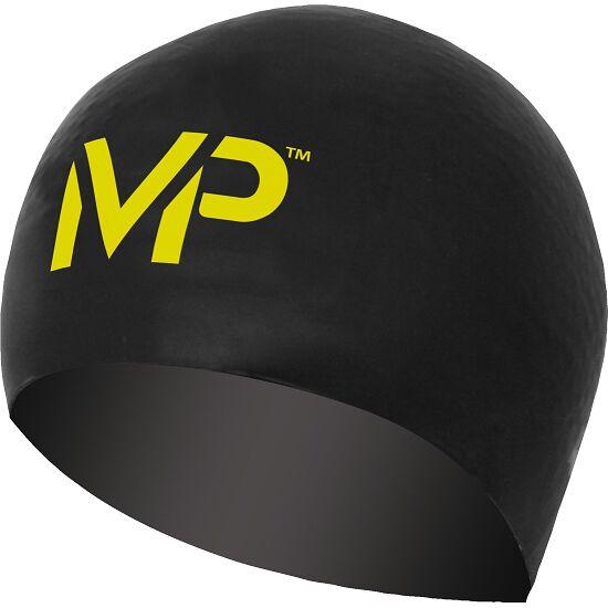 "Aqua Sphere® MP™ Schwimmkappe ""Race"" Black/Yellow"