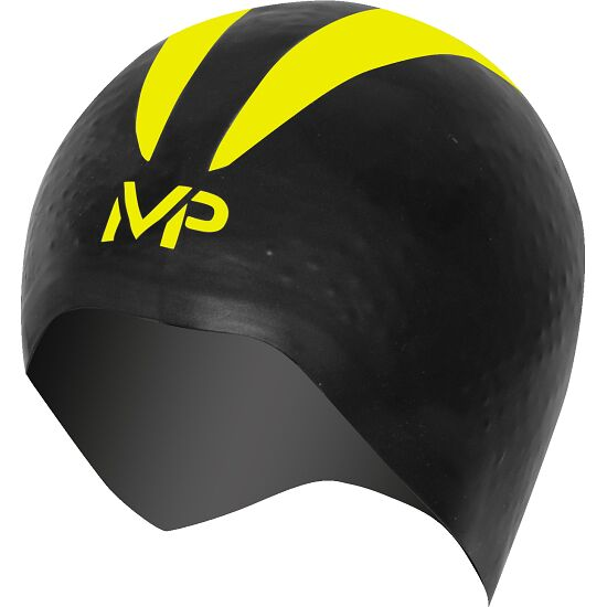 "Aqua Sphere® MP™ Schwimmkappe ""X-O"" Black/Yellow"