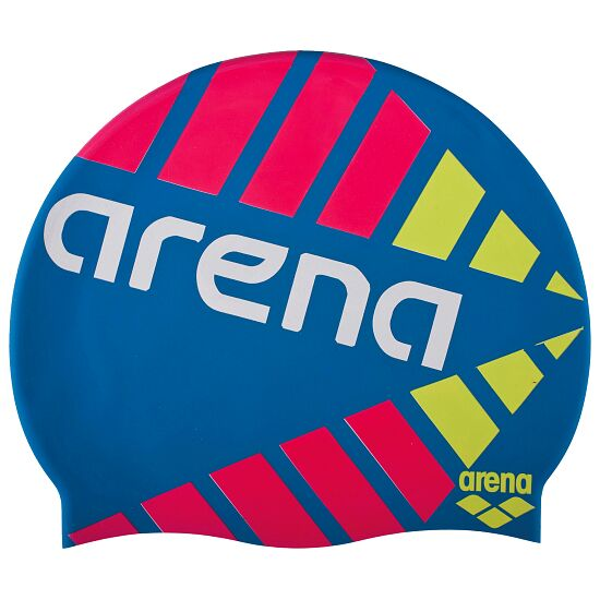 "Arena® Badekappe ""Print 2"" Strobe Deep Sea"