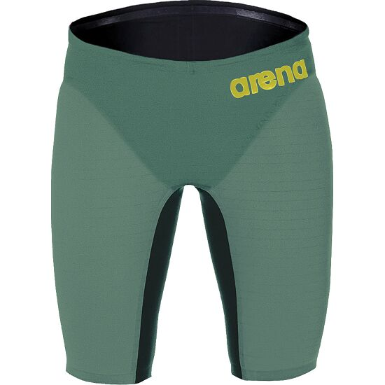 "Arena® Jammer ""Powerskin Carbon Air"" Dark green-Fluo red"