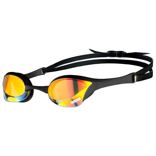 "Arena Schwimmbrille  ""Cobra Ultra Swipe Mirror"" Yellow Copper-Black"