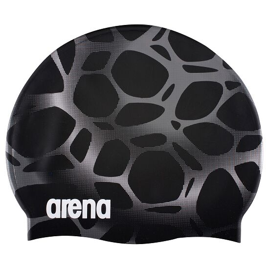"Arena® Schwimmkappe ""Print"" Polycarbonite/Black"