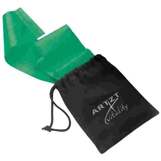Artzt Vitality Latex-Free Exercise Band 2.5 m, Green, high