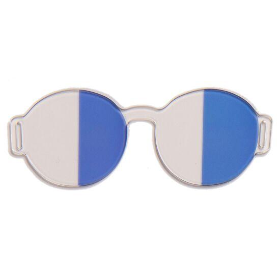 Artzt Vitality Neuro-Training Halbfeldbrille Blau-Transparent
