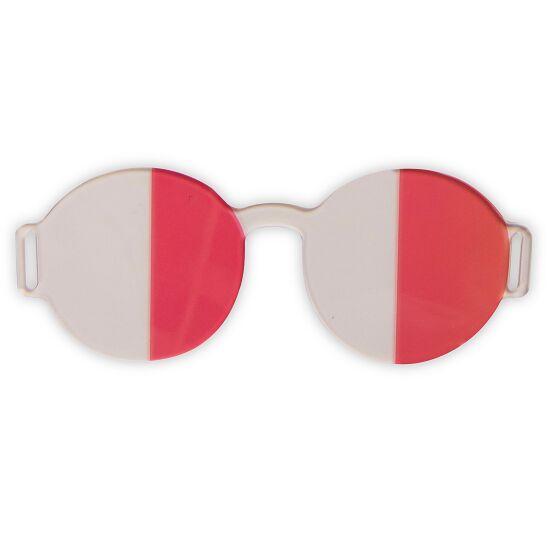 Artzt Vitality Neuro-Training Halbfeldbrille Rot-Transparent