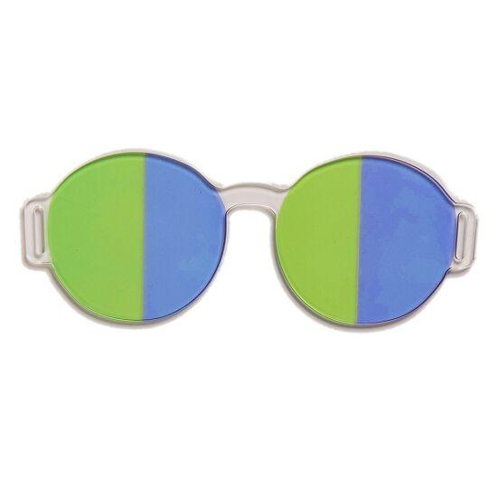 Artzt Vitality Neuro-Training Halbfeldbrille Grün-Blau
