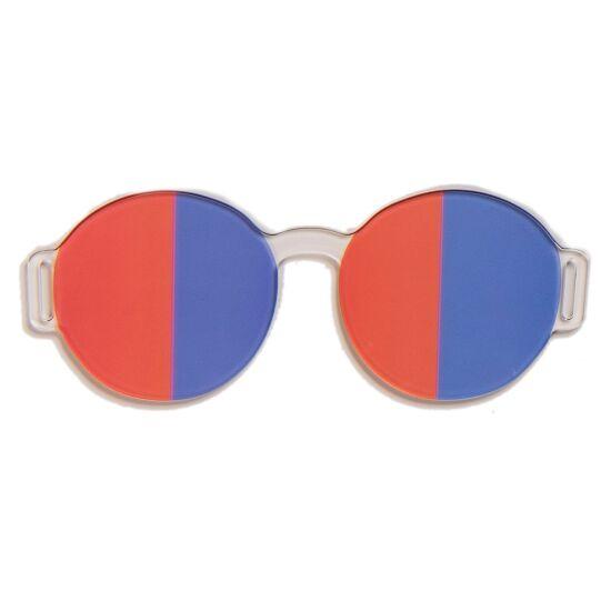 Artzt Vitality Neuro-Training Halbfeldbrille Rot-Blau