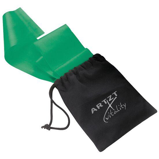 Artzt Vitality træningsbånd, latexfri 2,5 m, Grøn, stærk