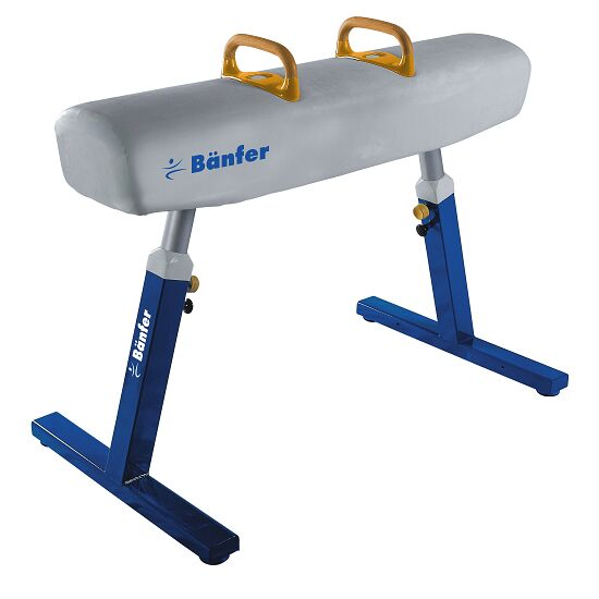 Bänfer® ''Exclusive'' Pommel Horse Without castors, White leather