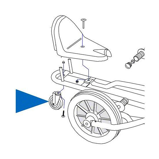 Baghjul/støttehjul til Swingcart®