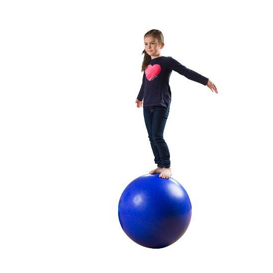Balance Ball ø approx. 60 cm, 12 kg, Dark blue with silver glitter