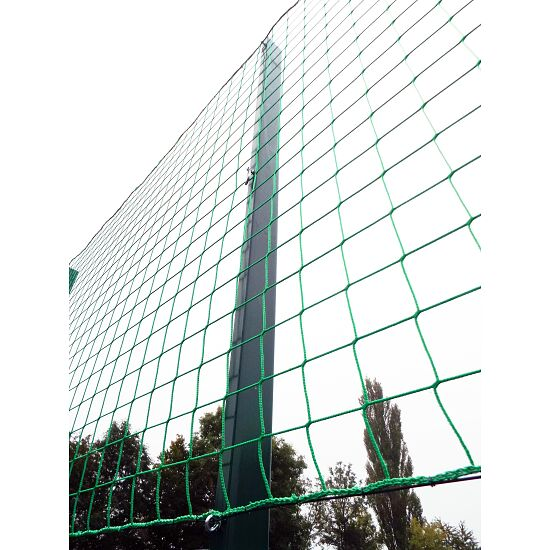 Ballfangnetz-Anlage mit Doppelstabmatte, 40 m Moosgrün, 40x4 m