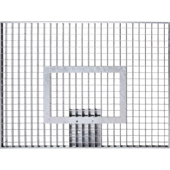 Basketball plade af gittervæv 120x90 cm