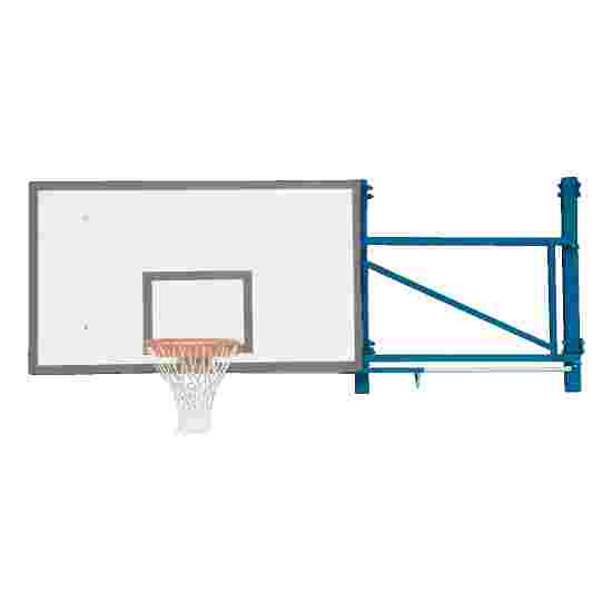 Basketball Wall Frame, Swivel Design Extends out 170 cm, Concrete wall