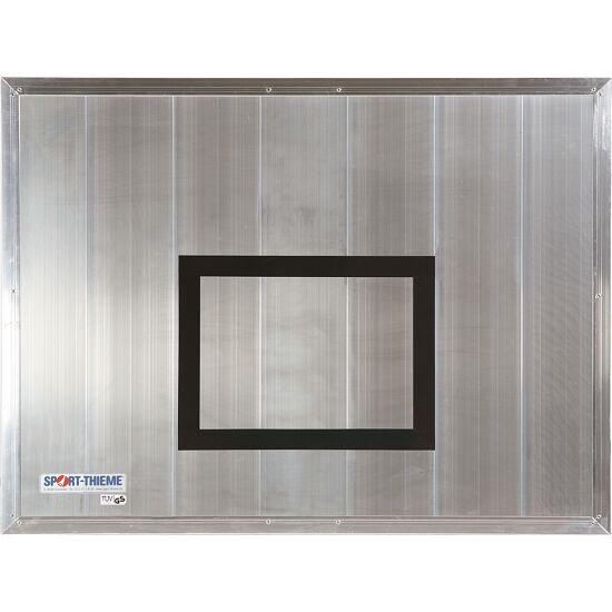 Basketplade af aluminium