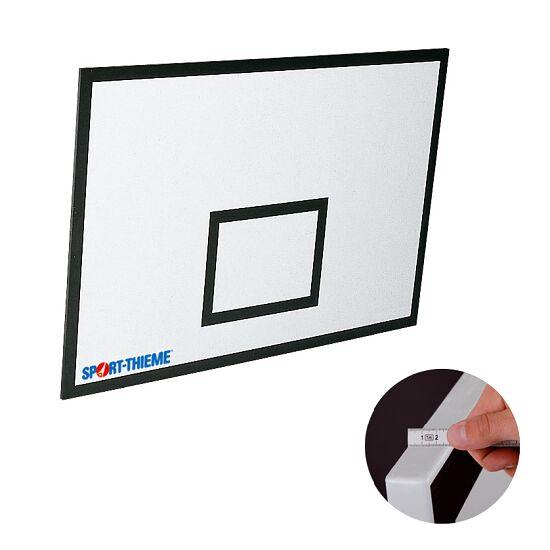 Basketplade af glasfiberarmeret kunststof (GFK) 120x90 cm, 27 mm