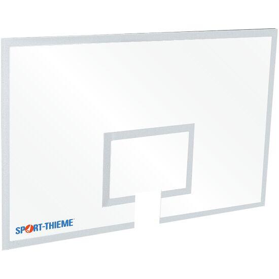 Basketplade, af sikkerhedsglas 180x120 cm, 12 mm