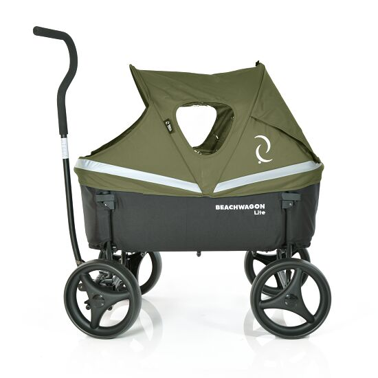 "Beach Wagon Company Canopy for the ""Lite"" Push-Along Cart Khaki green"