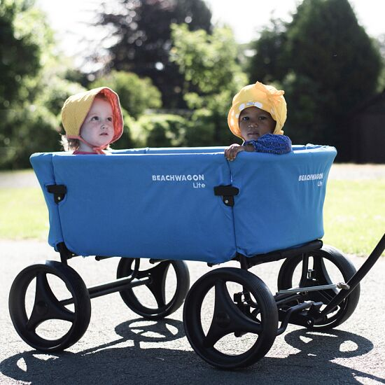 "Beach Wagon Company ""Lite"" Push-Along Cart Blue"