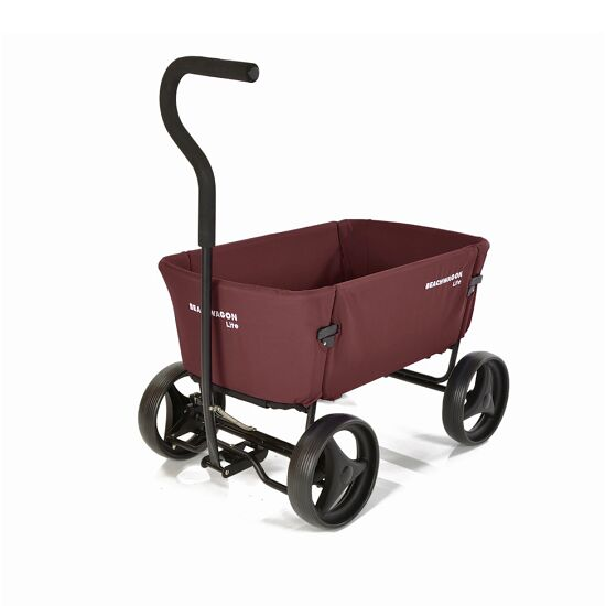 "Beach Wagon Company ""Lite"" Push-Along Cart Dark brown"
