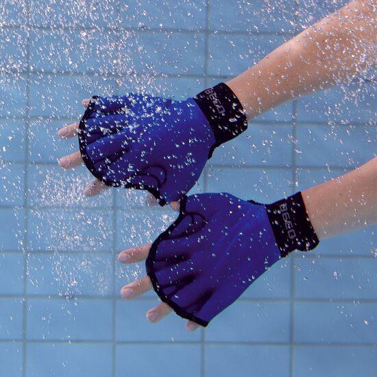 Beco Aqua Fitness-Handschuhe, offen S, Türkis