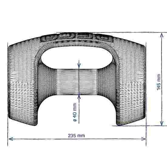 Beco Aqua-Jogging-Hanteln BeBell Größe M, 23,5x14,5 cm