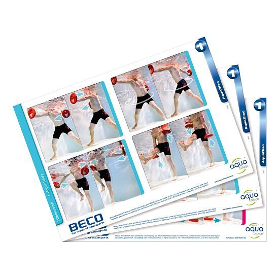 "Beco CueCards ""Aqua Disc"""
