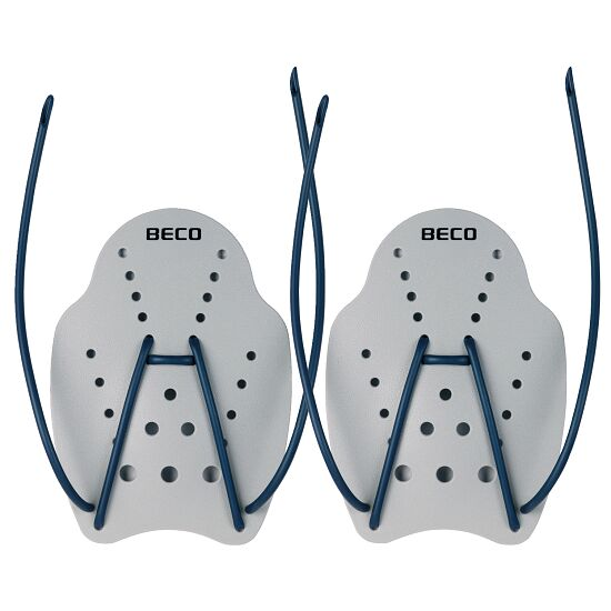 Beco® Hand Paddles Size L, 23x19 cm, grey