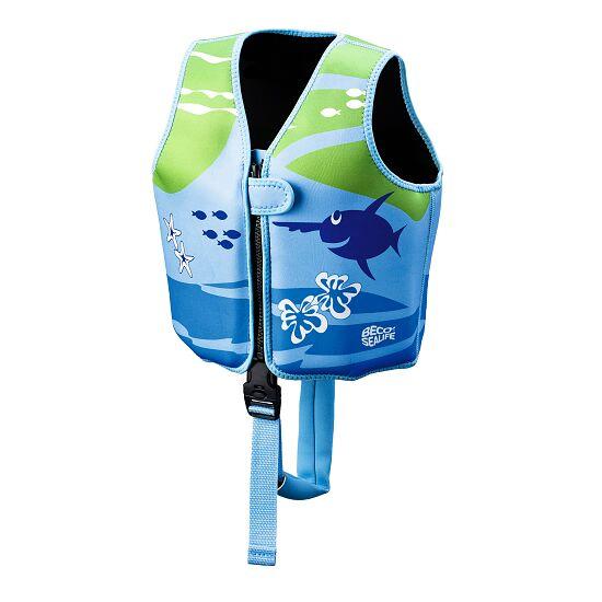 Beco-Sealife Schwimmweste Blau-Grün