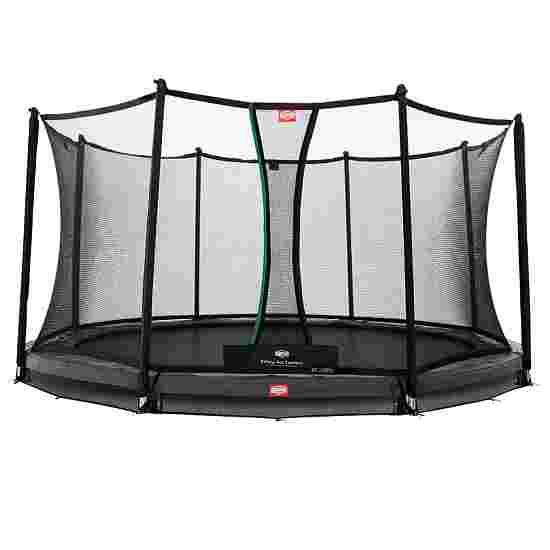 "Berg ""Champion"" InGround Trampoline with Comfort Safety Net Trampoline Grey edge cover, 380 cm"