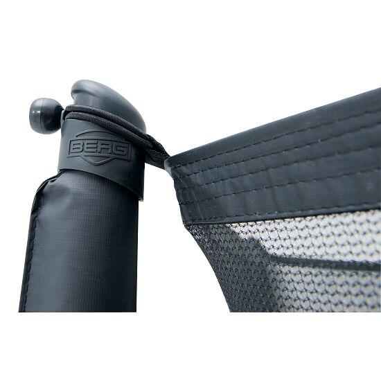 """BERG® Trampolin InGround """"Champion"""" mit Sicherheitsnetz Comfort Randbezug Grün, 270 cm"""