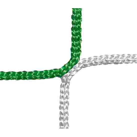 Beskyttelses- og fangnet, maskestørrelse på 12 cm. Grøn-hvid, linetykkelse 4 mm