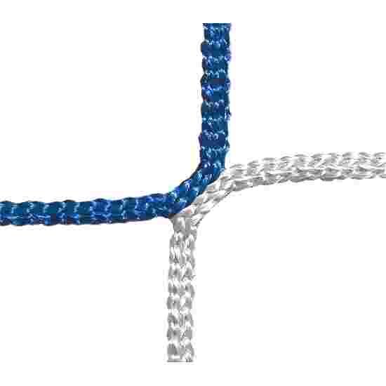 Beskyttelses- og fangnet, maskestørrelse på 12 cm. Blå-hvid, linetykkelse 4 mm