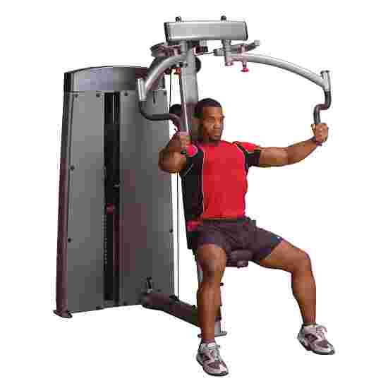 "Body-Solid ""Pro Dual"" Butterfly and Reverse Butterfly Machine 95 kg weight block"