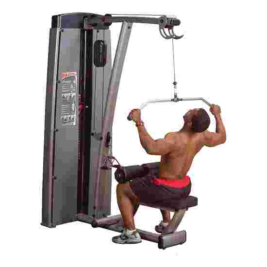 """Body-Solid """"Pro Dual"""" Lat Pulldown and Rowing Machine 95 kg weight block"""
