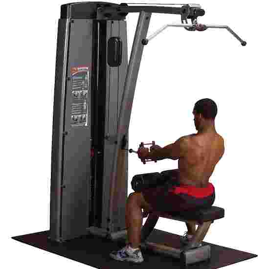 """Body-Solid """"Pro Dual"""" Lat Pulldown and Rowing Machine 140 kg weight block"""